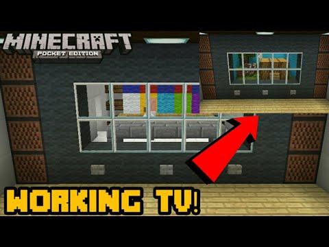 Minecraft PE | Working TV Map by: MrNoobiePH! | DL Map