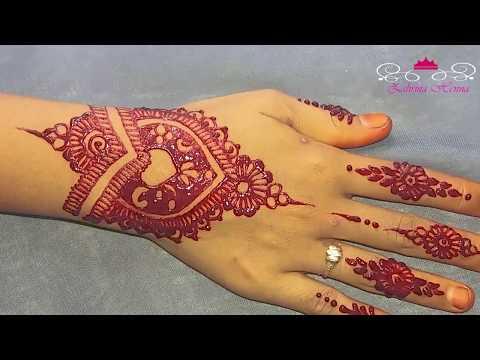 Tutorial Henna Wedding Simple By Zahrina Henna Eachnow Com