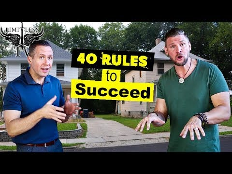 How To Succeed In Real Estate Investing [40 TIPS] - Part 1