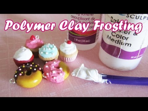 How To: Polymer Clay Frosting/Icing