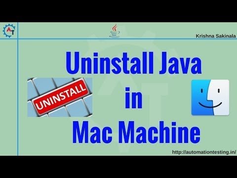 How to Completely Uninstall Java from Mac Machine (100%)