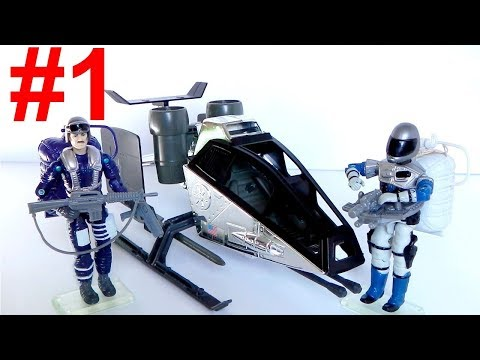 1990 Sky Patrol: Skydive, Static Line & Sky Hawk G.I. Joe review (1 of 4)