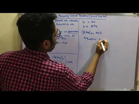 Data Mining & Business Intelligence | Tutorial #6 | Measuring Central Tendency (Solved Problem)