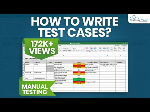 live example of Test Cases | How to Write Test Cases in Manual Testing | Manual Testing Tutorial