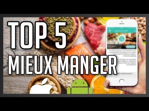 Top 5 meilleures applications iOS et Android pour mieux manger !