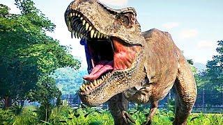 JURASSIC WORLD EVOLUTION Trailer (2018) Jeu Vidéo avec des Dinosaures !