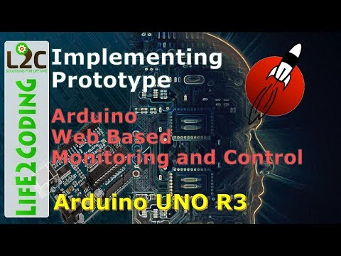 Arduino Web Based Monitoring and Control