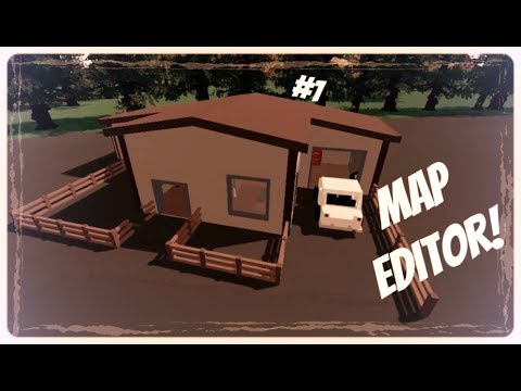 Unturned Tutorial | House in Map Editor #1