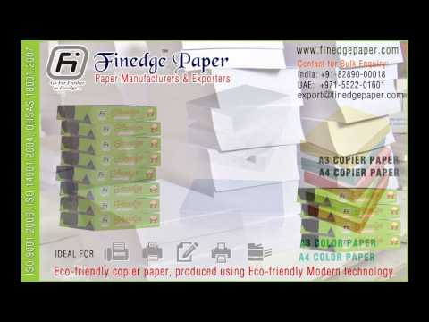 A4 photo copy paper and printing paper manufacturers exporters in india