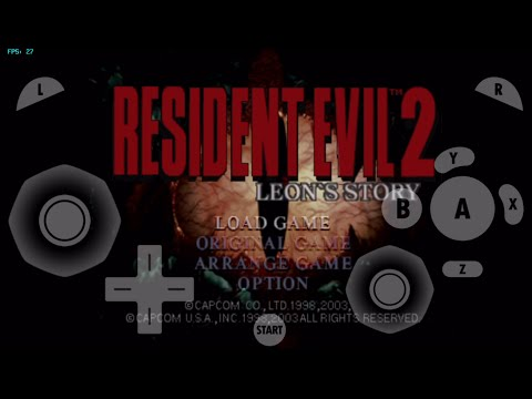 gamecube for ios- Resident Evil 2 (Gameplay and Menu Testing) gc4ios, dolphin emulator for ios