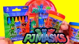 PJ Masks Toy With Activities for Kids - Learn Colors, Connect the Dots, and More!