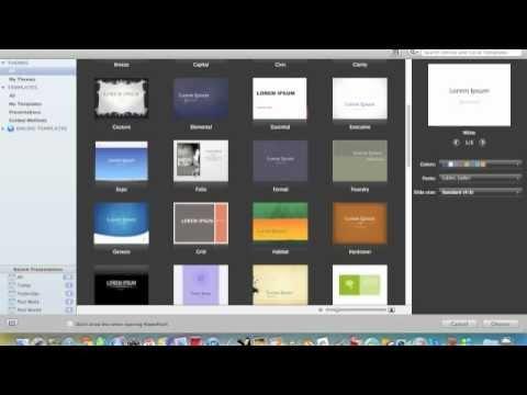 Powerpoint Mac 2011: Basics