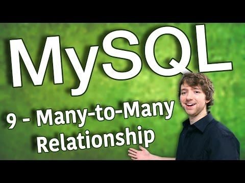 MySQL 9 - Many-to-Many Relationship