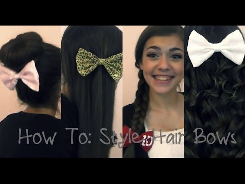 How To: Style Hair Bows