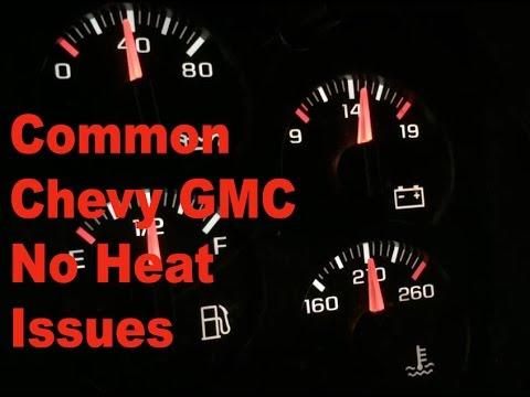 Chevy Silverado Tahoe GMC Sierra Yukon No Heat