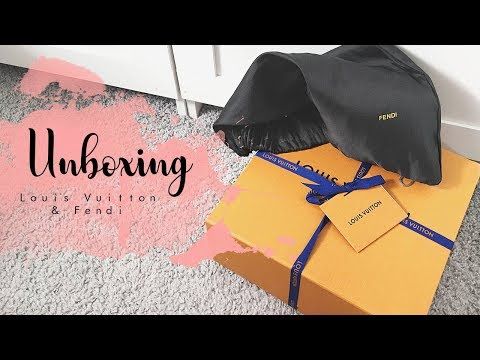 Chrisobv // Fendi & Louis Vuitton Unboxing