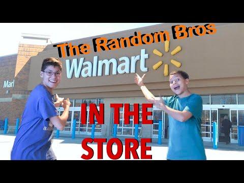 In Walmart (quick vid) - The Random Bros