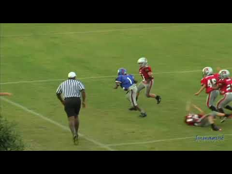 WCFL youth football plays of the week Varsity & Pro Divisions 9/10/11