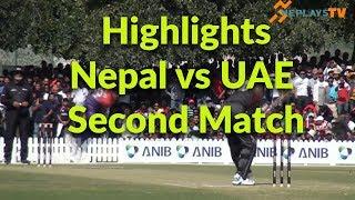 Highlights-2nd T-20 Nepal