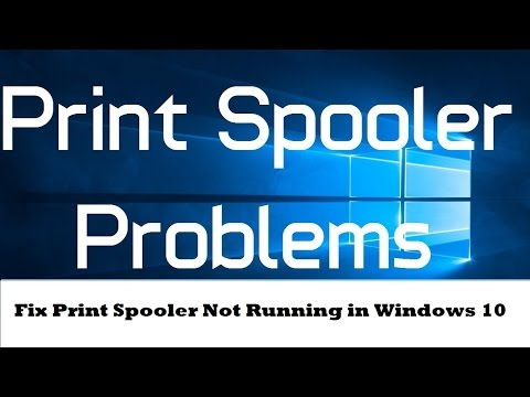 How to Fix Print Spooler Service Not Running in Windows 10