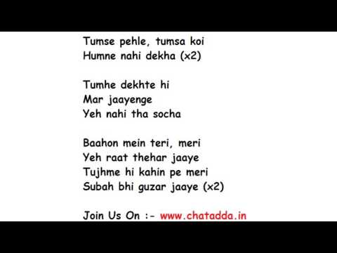 Xxx Mp4 Dil Mein Chhupa Loonga Lyrics Full Song Lyrics Movie Wajha Tum Ho 3gp Sex