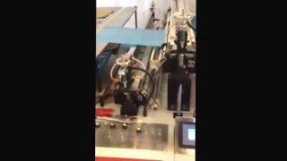 Máy cắt đột quai tự động 2 tầng 4 dây. Liên hệ mr trung 0901432281