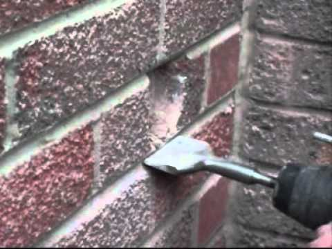 Fitting an electrical back box into Hard Brick