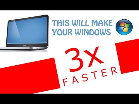 How To Make Your Computer/Laptop Run 3x Faster