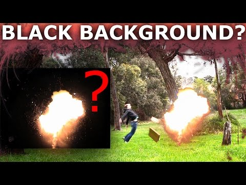 How To Remove Black Background From Stock Footage in After Effects