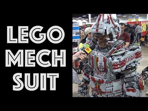 Epic Full Body LEGO Mech Suit – 30,000 Pieces!