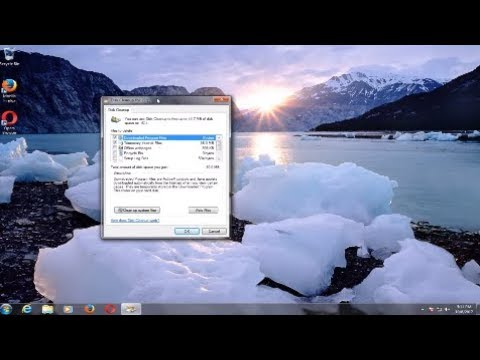 How To Use The Windows 7 Disk Cleanup Wizard