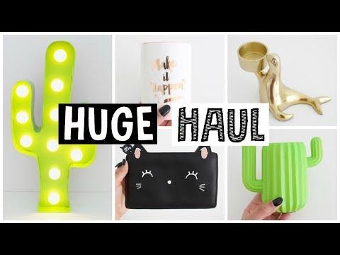 HUGE ROOM DECOR HAUL + ROOM UPDATE!