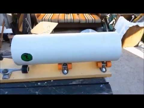A Roller System to help in cutting PVC sleeves and How To cut your sleeves
