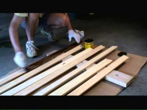 Staining Window Trim Video