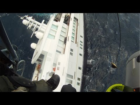 GoPro: Coast Guard Rescues Sinking Yacht