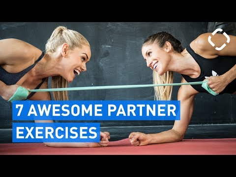 7 MOST AWESOME Total Body Partner Exercises (feat. Nina Silic)