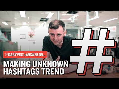 Making Unknown Hashtags Trend