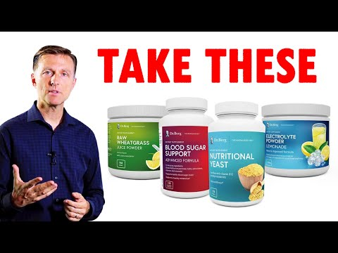 Dr. Berg Recommended Supplements for Intermittent Fasting