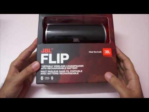 JBL Flip Wireless Bluetooth Speakers Unboxing - Geekyranjit