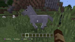How To Tame A Horse Minecraft Ps4 Edition
