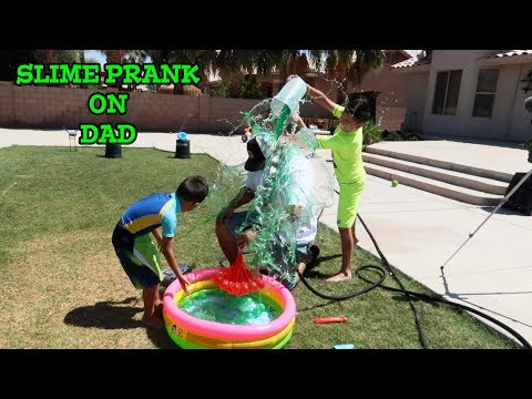 SLIME PRANK on DAD | GETTING EVEN