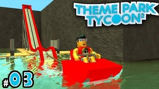 NEW Theme Park Tycoon! Ep  2: ERUPTING a Volcano!! - Zoomzem com