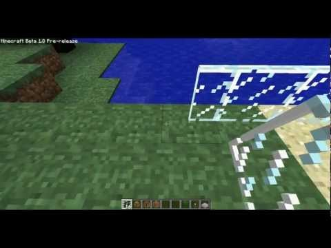 Minecraft 1.8 how to make glass panes
