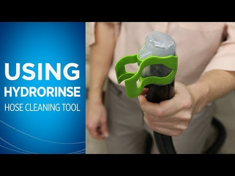 How to Use the HydroRinse™ Self Cleaning Hose Tool