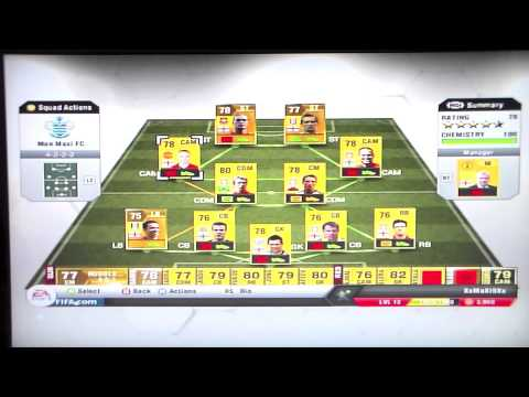 Fifa 13 how to get your chemistry up