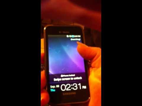 How to unlock a TMobile Samsung Galaxy 4g cell phone