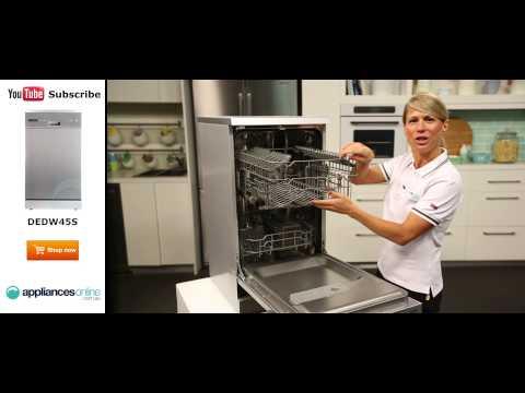 Delonghi Dishwasher DEDW45S reviewed by expert - Appliances Online