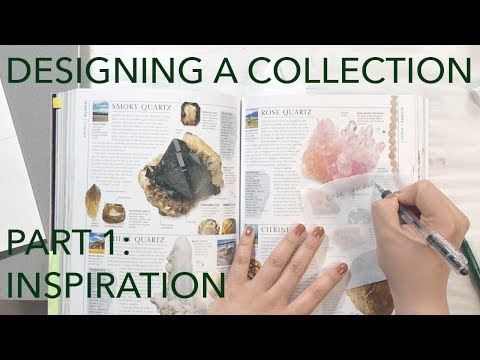 Watch Me Design A Fashion Collection 1: Inspiration