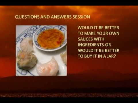 Chinese food cooking questions and answers basic