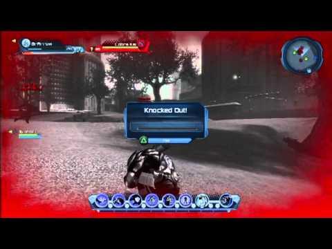 DCUO PS3 Beta Server 2 Battle of the Legends Metropolis 2